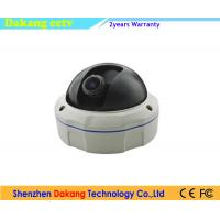 Quality Smart Dome Starlight IP Camera 2 Way Audio Vandal Resistant With SD Card for sale