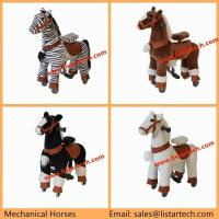 Quality Cute Little Mechanical Ride on Horse Ride on Pony, Riding Toys Walking Toy on Horse for sale