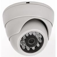Quality 24pcs Φ5mm High Power IR LED, 20M IR Distance, 3.6mm Lens Dome Sony Effio CCD Camera for sale