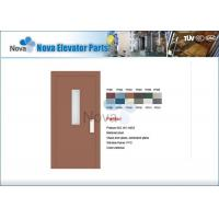 Quality NV31-S Series Hairline Elevator Semi-automatic Door with Stainless Steel Surface , 1000mm * 2000mm for sale