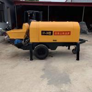 Quality L2650 * W1200 * H1400mm Portable Concrete Pump For Fine Stone 22kw Power 30 Type for sale