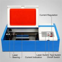 Quality 40W CO2 Laser Engraving Machine 3020 For Acrylic Wood Bamboo Rubber Stamp for sale