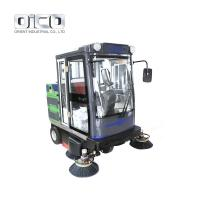 China E800FB Spraying Function All-Closed Sweeper Machine For Commercial Use for sale