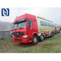 Quality Q345 Material 60m3 Bulk Cement Trailer With 4102 Weichai Engine and 12M3 Wuhu Air Compressor 12.00R20 triangle tires for sale