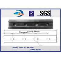 Quality 4 Holes Railroad Joint Bar Railway Fish Plate For GB 38kg 43kg Rail TB/T 2345-2008 for sale