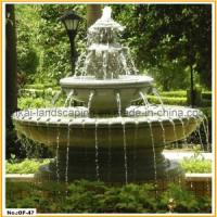 Quality Stone Fountain Carved Marble Water Fountain for Garden Outdoor for sale