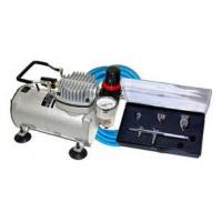 Quality Professional Airbrush Tattoo Kit Machine with Single Cylinder Piston Air Compressor 1/6HP for sale