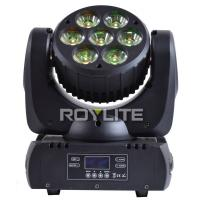 Quality 7pcs Ostar Multi RGBW LED Beam Moving Head 6° Quiet Pro Lights With Big Lens for sale