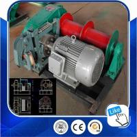 China Top Quality Quick Hydraulic Lifting Hoist 10ton Winch From China on sale