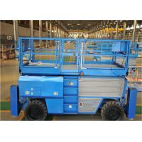 Quality Rough Terrain Scissor Lift With Automatic Pothole Protection System for sale