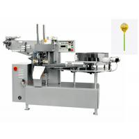 Quality Commercial Candy Packaging Machine / Fully Automatic Round Lollipop Single Twist Packing Machine for sale