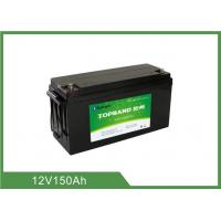 Quality 12v 150ah Bluetooth Lithium Battery Bluetooth APP Lead Acid Replacement Solar Lithium Ion Battery for sale