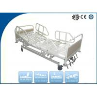 Luxury Five Function Folding Manual ICU Hospital Bed for ...