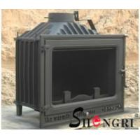 Quality 12kw insert wood burner cast iron fireplace for sale