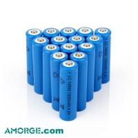 China Wholesale cheap high capacity 3.7V 600mah 14500 rechargeable lithium battery for toys and flashlight on sale