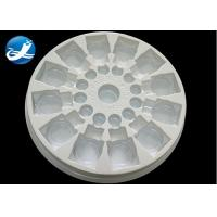 Quality Plastic Vacuum Forming Plastic Process  PVC Clear And White  Blister Packaging Tray for sale