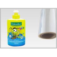 Buy cheap Eco Friendly 45 Mic PETG Film , High - Shrink Film Packaging For Bottle Sleeves from wholesalers