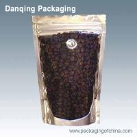 Quality Laminated Aluminium Foil Coffee Packaging Bags , Coffee Powder Stand Up Pouch With Zipper for sale