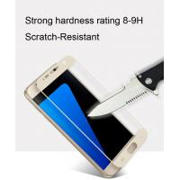 Quality galaxy s7 tempered glass screen protector Fulll coverage Anti-Glare scratch resistance 0.33MM ultra-thin Smooth Clarity for sale