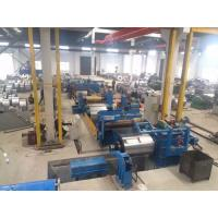 Hot Rolled Steel Metal Slitting Machine , Steel Slitting Equipment Automatically