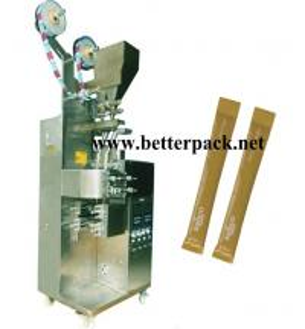 Double lane sugar stick packing machine, granule sticks packaging machines