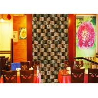 Quality Eco - Friendly Embossed 3d Brick Effect Wallpaper For Restaurant Background for sale