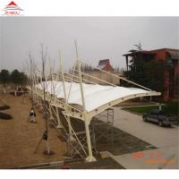 Quality Double - Layer Insulation Material Tensile Membrane Structures For Car Park Shed Or Bus Station for sale