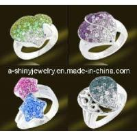 China Silver Jewellery Rings With Crystal (RSL3330) on sale