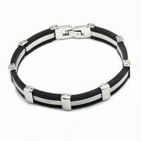 Quality 316L Stainless Steel Bracelet, Available in Various Styles for sale
