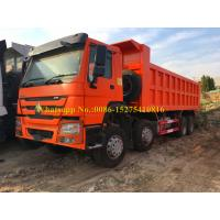 Quality SINOTRUCK HOWO 371/420 hp 8x4 12 wheeler Heavy Duty Mining Dump/ Dumper/Tipper Truck For Transporting sand stone mines for sale