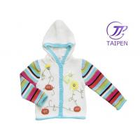 Quality Hooded Long Sleeve Winter Warm 100% Cotton Thick Eco - friendly Knitted Baby Wear Sweaters for sale