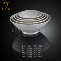 Buy cheap Melamine Tableware bowl plastic soup bowl dinnerware bowl with lid from wholesalers