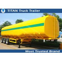 Quality 40000 Liters milk tanker trailer , 1 3 5 compartment pneumatic tank trailers for sale