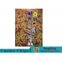 Quality Casino Acrylic Poker Chips Case Casino Chips Carrier For Round 40 - 42mm Chips for sale