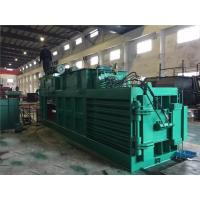 Quality Turnover Box And Plastic Baling Machine Waste Paper Baling Machine Hydraulic Driven for sale