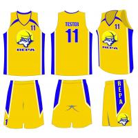Buy cheap Custom Sublimation Basketball Uniforms Design For Youth Team ...