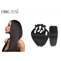 Quality 100 Brazilian Unprocessed Remy Hair Extensions No Animal And Synthetic Mixed for sale