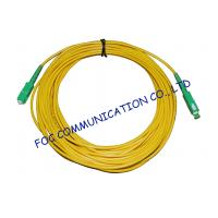 Quality High Stability Fiber Optic Cable Assembly , CATV System SM Simplex SC SC Patch Cord for sale