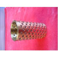 China High Precision Bronze Ball Bearing Cage , Ball Bearing Retainer For Machine on sale