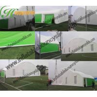 Buy cheap hot sell inflatable air tight 0.6mm pvc tarpaulin wedding party outdoor tent from wholesalers