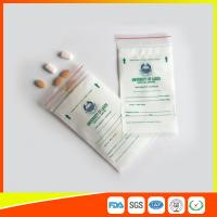 Buy cheap LDPE Clear Medical Ziplock Pill Bags For Hospital / Drugstore Disposable from Wholesalers