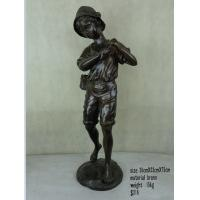 China Bronze angel statue for garden decoration on sale