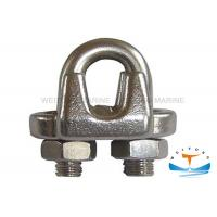 """Quality Us Type G450 Malleable Galvanized metal Wire Rope Clip Size 1/8'' -  3"""" for sale"""
