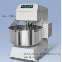 Quality Safe Industrial Bread Mixer 100kg Bread Dough Mixer Machine Low Voltage Protection for sale