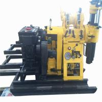 Quality 380V Water Well Drilling Rig With Diesel Engine Drlling Depth 230m Borehole for sale