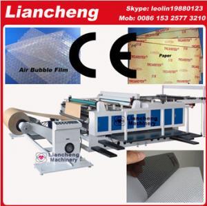China Bubble film, EPE, paper, plastic etc PLC DC self cutting transfer paper on sale