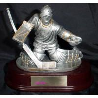 China polyresin trophy,hockey trophy, resin figurine,polyresin statue on sale