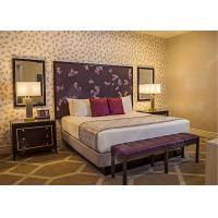 Quality Royal King Size Modern Queen Bedroom Sets  , High Standard Hotel Style Bedroom Furniture for sale