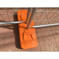 Buy Blow molding temporary fence base UV 531 UV 770 BHT treated 75mm 90mm 100mm at wholesale prices
