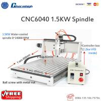 Powerful Desktop 3 Axis CNC 6040 Router , Ball Screw CNC Cutting Machine for sale